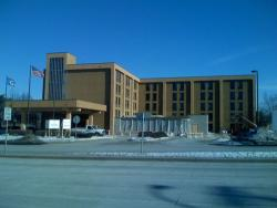 Redevelopment of the Hampton Inn into a Sherition Four Points Hotel